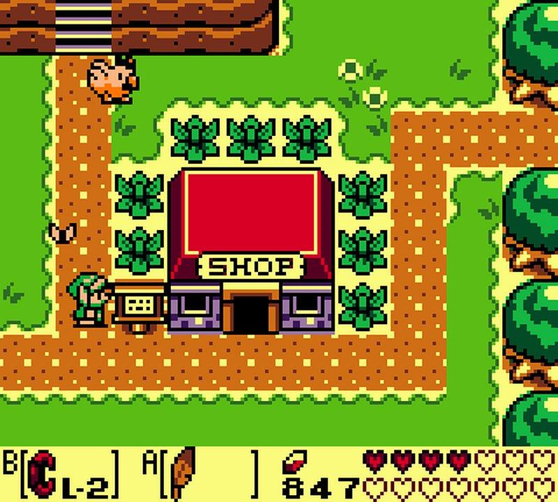 Indie Retro News The Legend Of Zelda Link S Awakening Dx