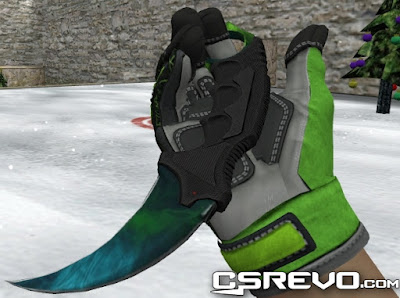 Skin Faca - Karambit Gamma Doppler Phase 3 - HD CS 1.6, knife, knifes
