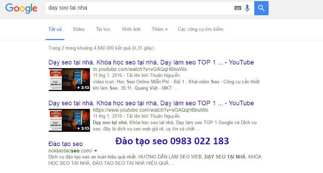 Dạy SEO Tại TPHCM, Bí Kíp TOP Google cho người mới bắt đầu