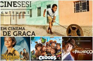 Veja a programação do Cine Sesi Cultural nesse fim de semana em Delmiro Gouveia