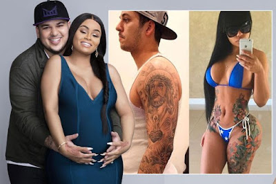 Rob and Chyna throwbacks show shock transformations