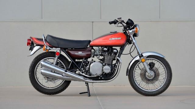 Kawasaki Z1 1970s Japanese classic motorcycle