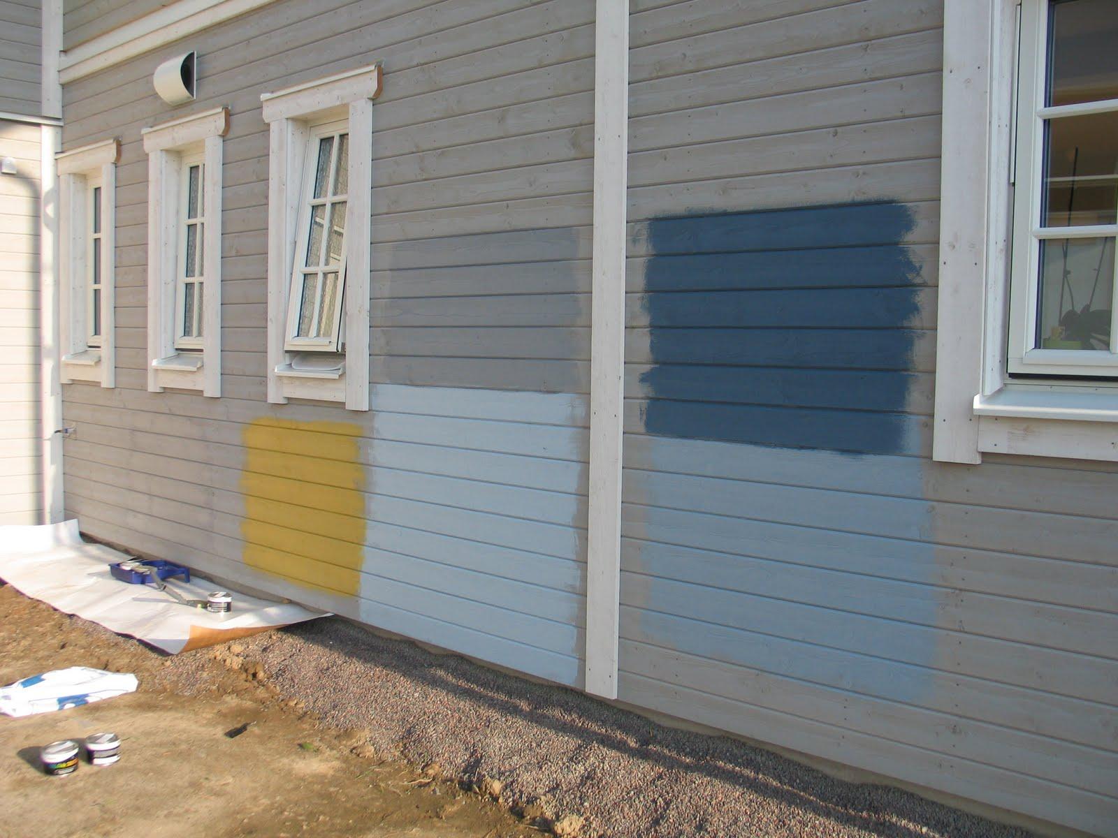 Colori Per Pittura Esterna Casa one way to sweden - il blog di due italiani in svezia: prove
