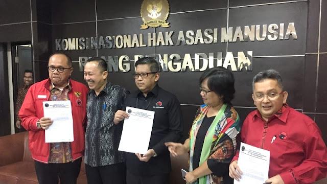 PDIP ke Komnas HAM Bahas Kasus 27 Juli dan Minta SBY Ungkap ke Publik