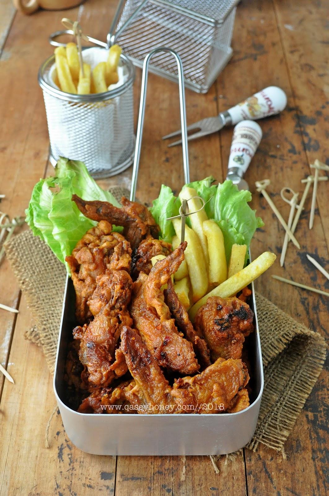 Ayam Goreng Pedas 4finger Inspired Crunchy Korean Fried Chicken Qasey Honey