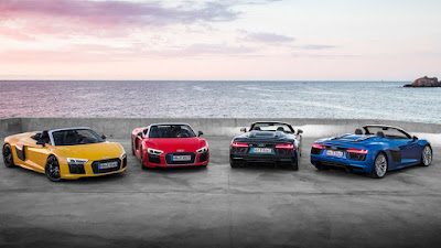 Audi R8 V10 Spyder 2018 Reviews, Specs, Price