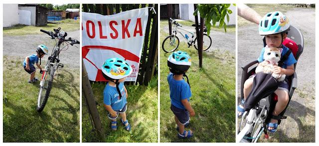 bezpieczna jazda na rowerze z dzieckiem