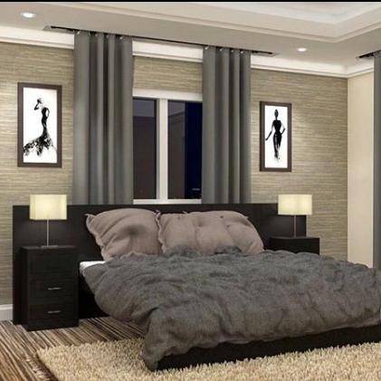 desain interior kamar tidur clean modern minimalis