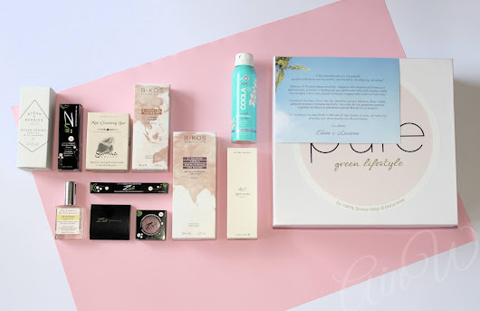 Alice in WonderNails: BEAUTY: Vanity Space & Pure Green Lifestyle Summer Box Luxury Edition - Parte 1