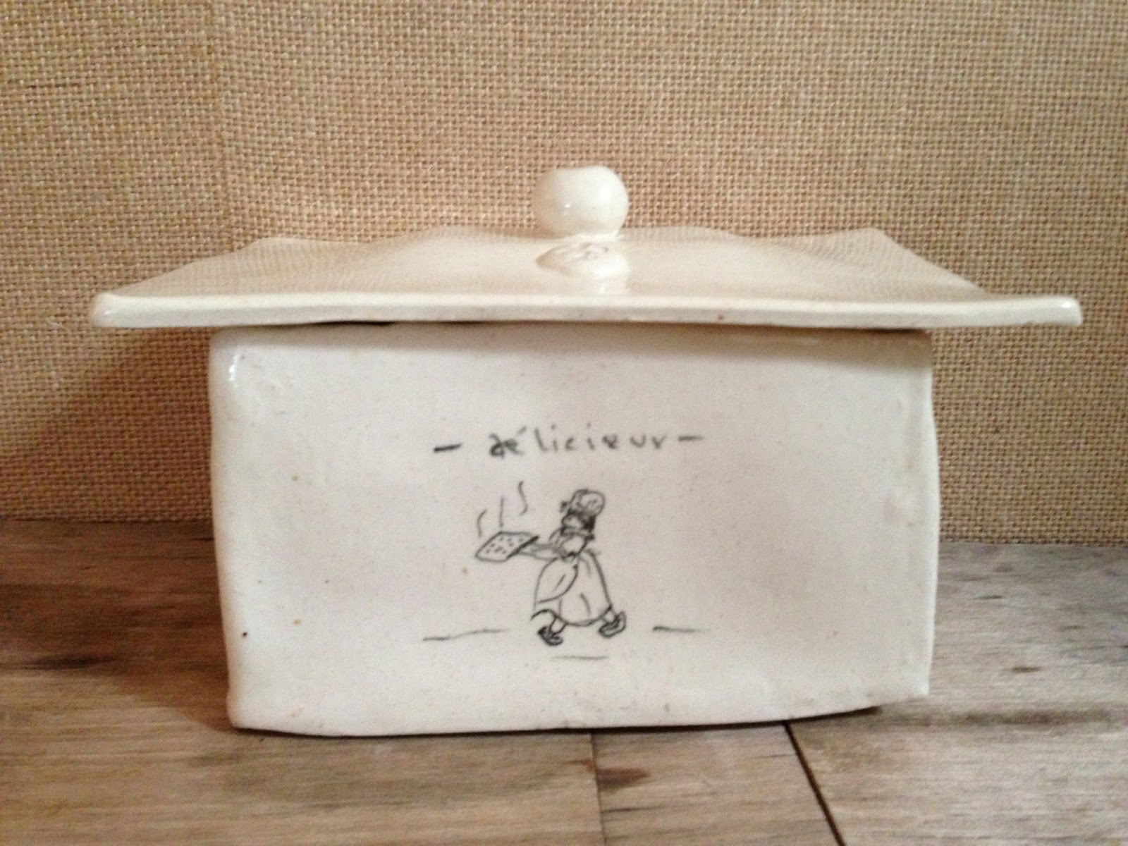 Shop La Dolfina French Inspired Butter Dish