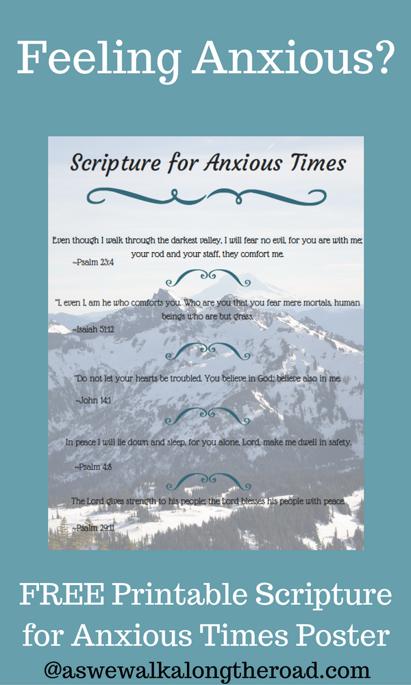 Scripture verses about anxiety