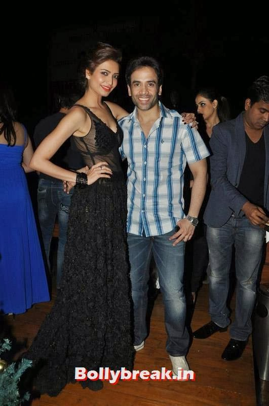 Karishma Tanna and Tusshar Kapoor, Karishma Tanna's Birthday Bash Pics