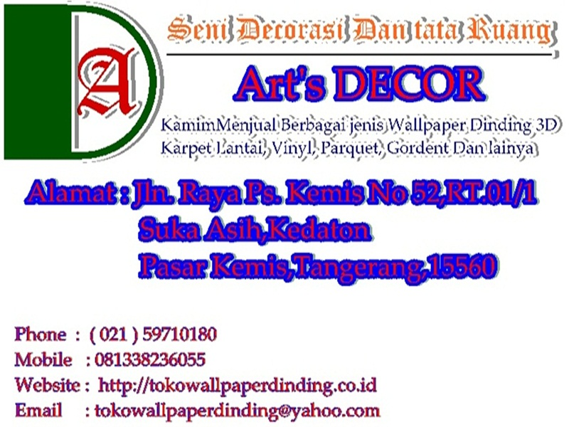 ART'S DECOR | 081911255342