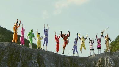 Shuriken Sentai Ninninger vs ToQger