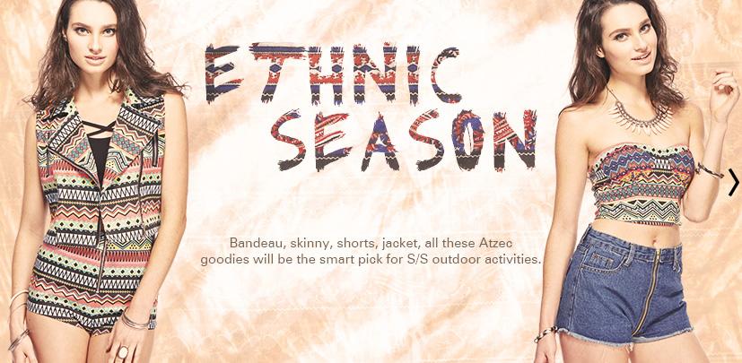Romwe Ethnic Season