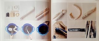 Mollie Makes Comic Relief Crafternoon magazine | shibori dyeing