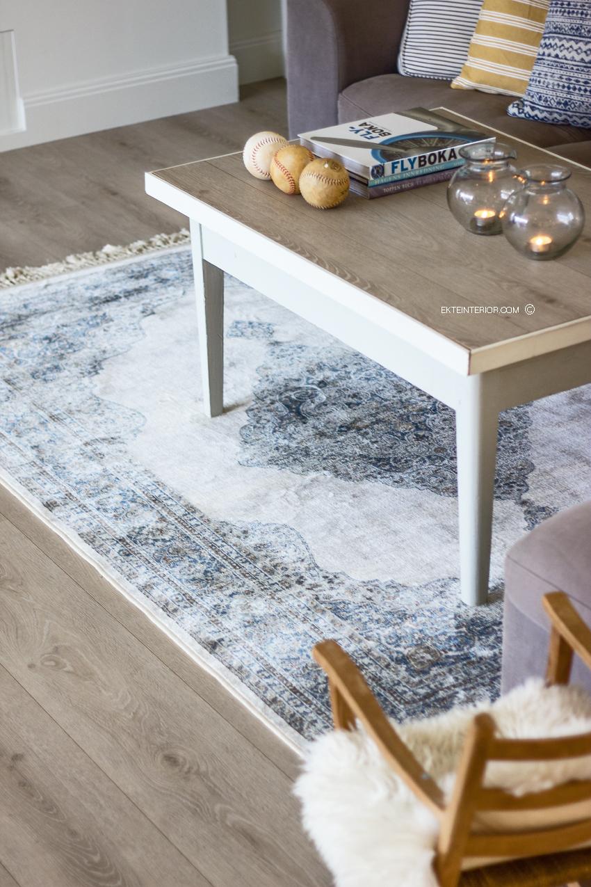 Hyggelig EKTE INTERIØR: Orientalsk teppe i stuen! UP-67
