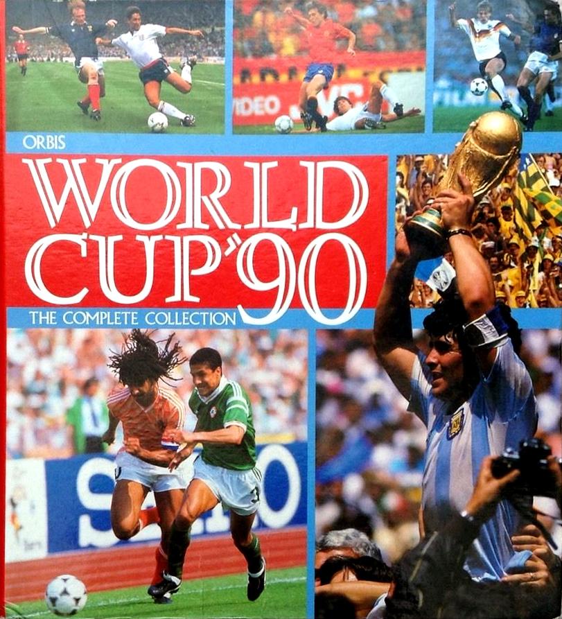 ORBIS 1990 WORLD CUP COLLECTION-#015-ARGENTINA-PEDRO MONZON