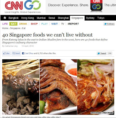 Singapore Foods We Can T Live Without