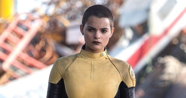 Brianna Hildebrand como Negasonic en Deadpool