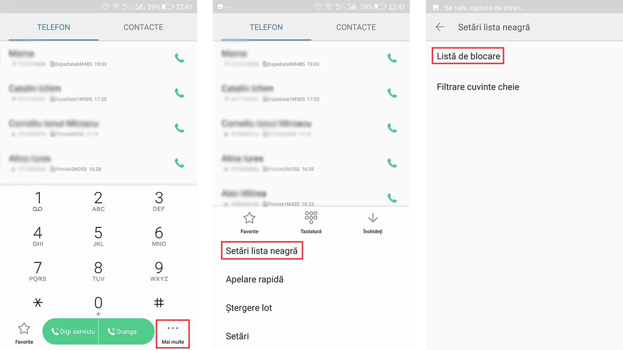 Aplicatie blocare apeluri necunoscute iphone