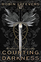 Courting Darkness by Robin LaFevers book cover and review