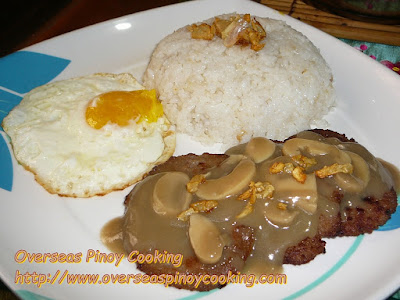 Ulam Burger, Pinoy Burger Steak Style