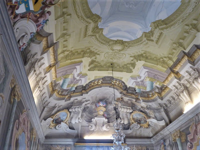 soffitto salone palazzo pavesi