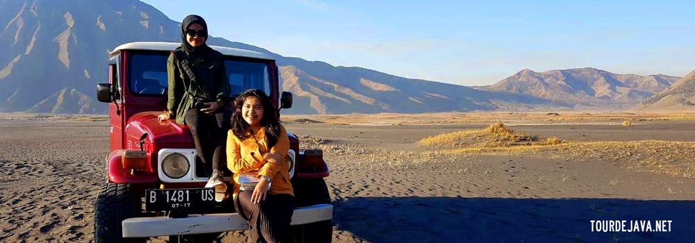 open trip bromo sudah termasuk jeep adventure kawasan wisata bromo
