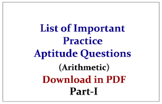 Arithmetic Reasoning Questions Solved Answers Pdf