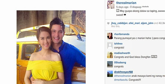 Marian and Dingdong confirms pregnancy on 25 Oras
