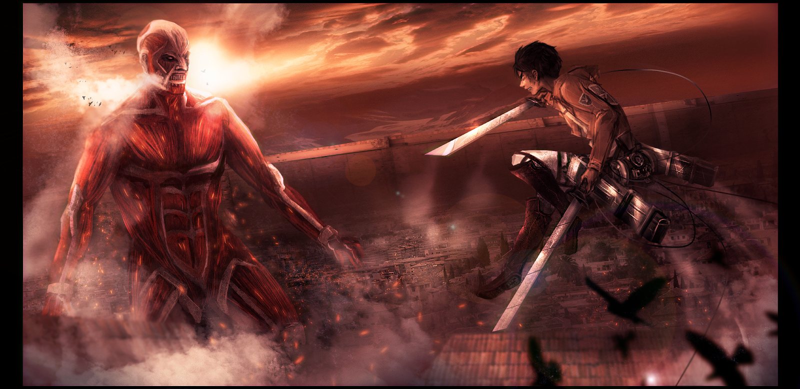 Attack on Titan Wallpapers for Phone