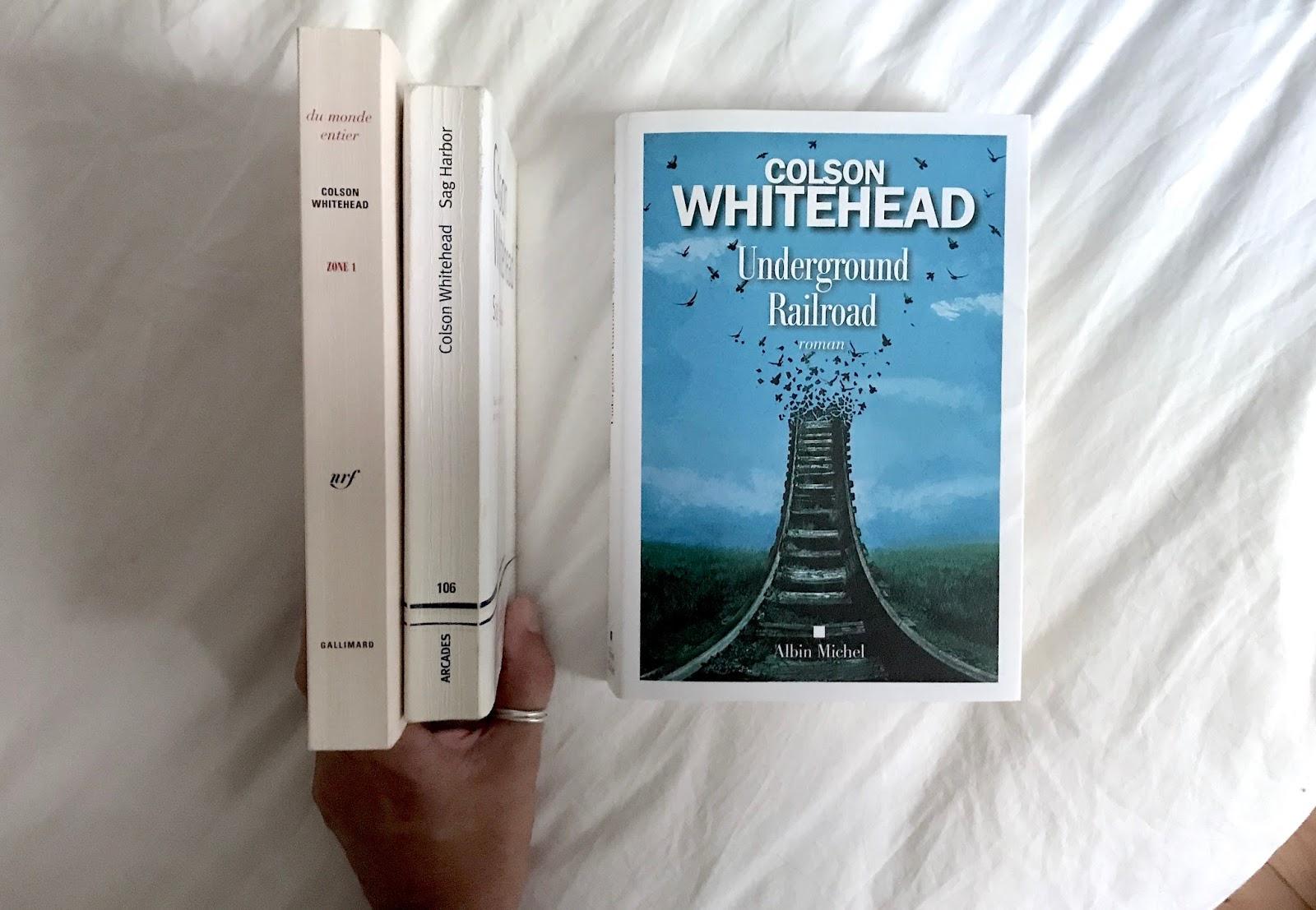 Underground Railroad Colson Whitehead Hop Sous La Couette