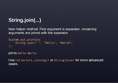 String Join Example in Java 8
