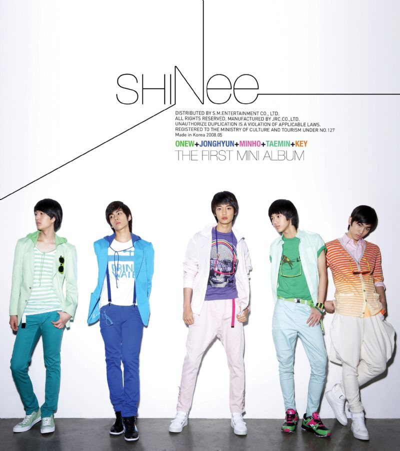 SHINee – Replay (1st Mini Album) (FLAC + ITUNES PLUS AAC M4A)