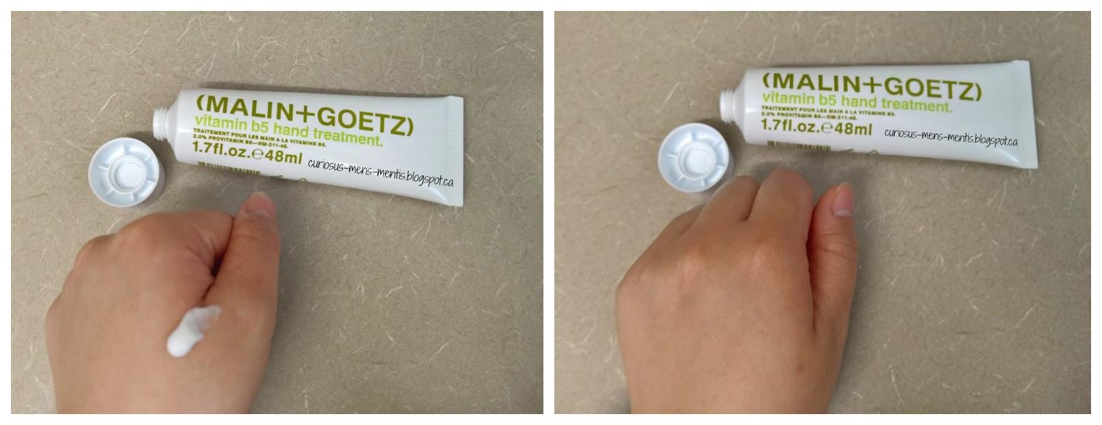 malin goetz vitamin b5 hand treatment