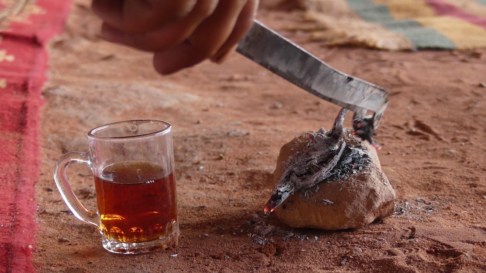 Wadi Rum beduińska herbata