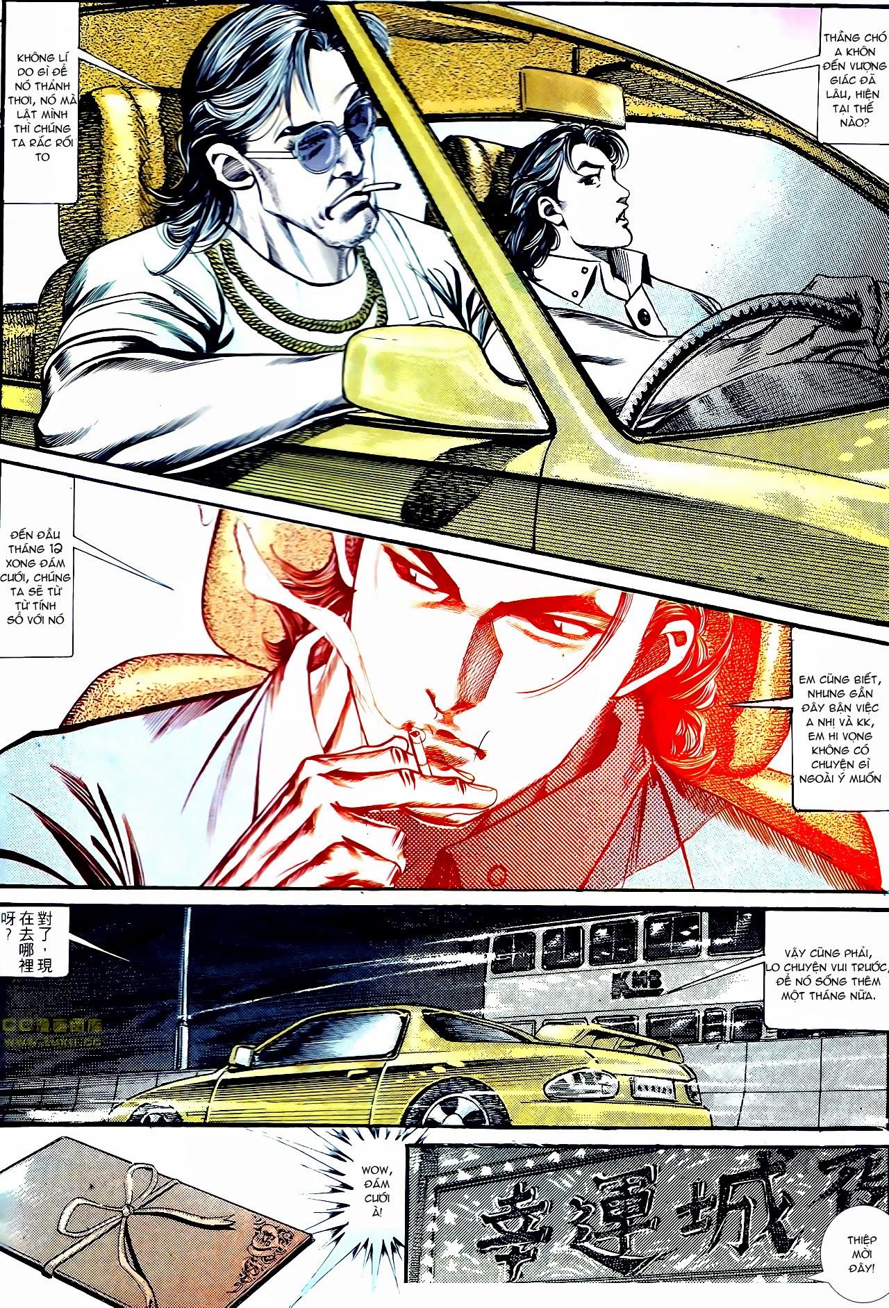 Người Trong Giang Hồ chapter 134: tấn công bảo nhi trang 5