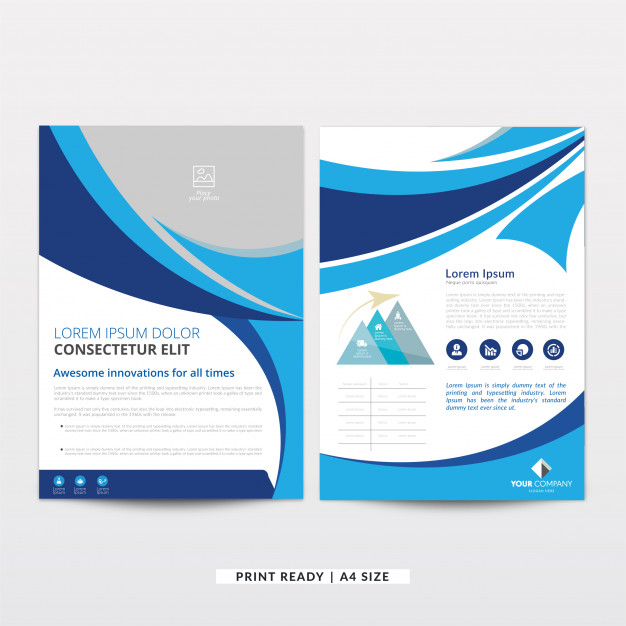 Free Brochure Templates - Pricing flyer template