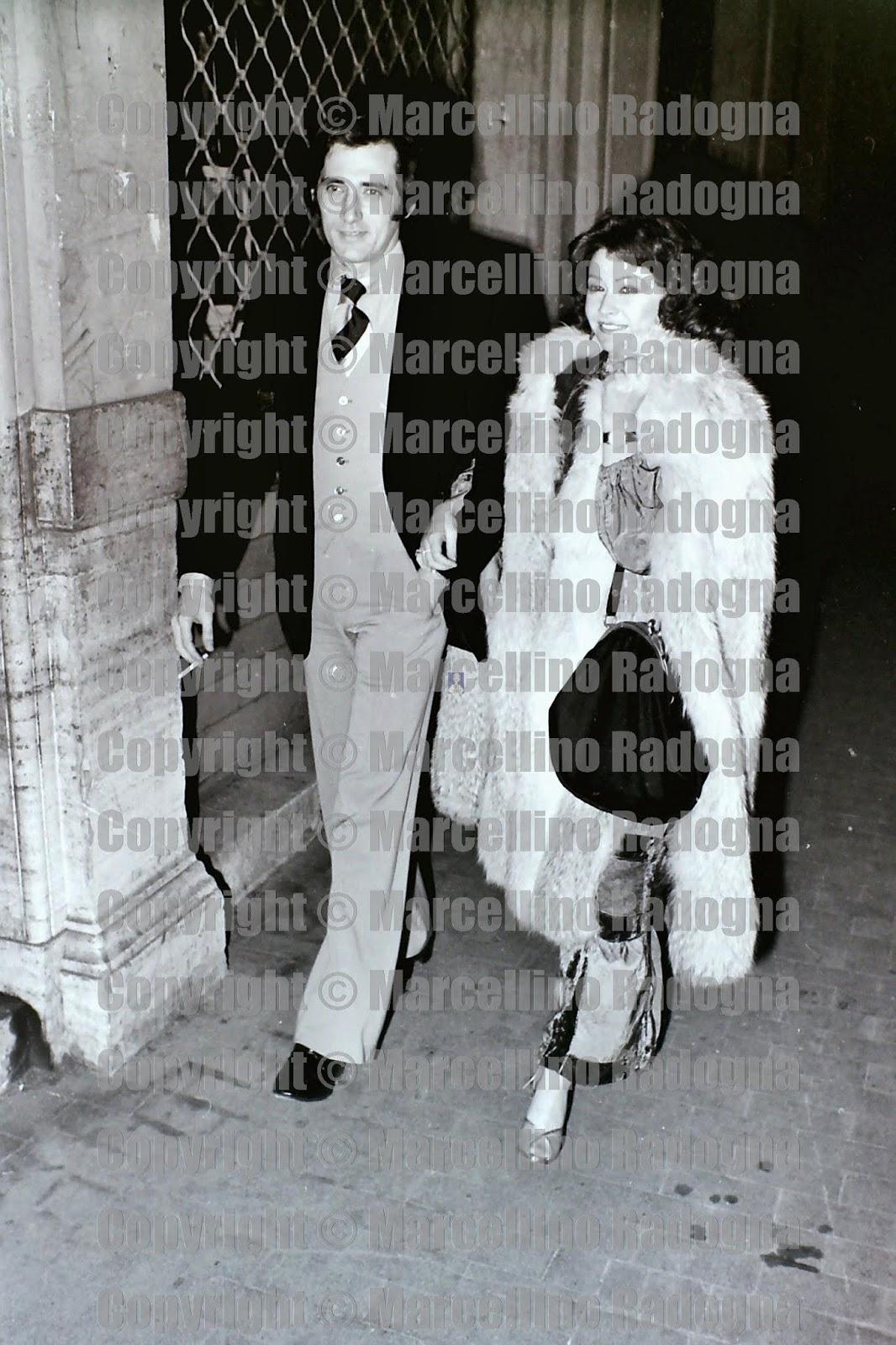Marcellino Radogna - Fotonotizie per la stampa: Paola Quattrini e il marito  Luciano Appignani