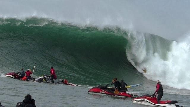 Santa Cruz Waves Presents Slow Moment at Mavericks with Shawn Dollar