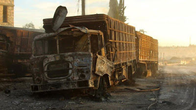 Gencatan Senjata Suriah Rapuh, Konvoi Bantuan PBB Diserang, Amerika Peringatkan Rusia