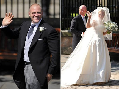 10 Zara Phillips & Mike Tindall
