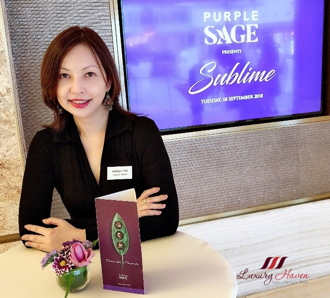 purple sage media event luxury haven lifestyle influencer