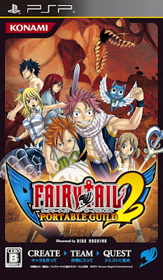 Download Download Anime Game Fairy Tail: Portable Guild 2 (Japan) PSP ISO – Emulator Game