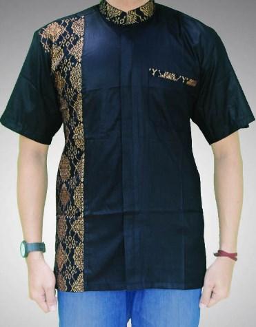 Busanamuslim 21 Macam Contoh Model Baju Batik Pria Kombinasi