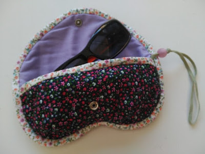 funda gafas, costura, couture, sewing, sunglasses case