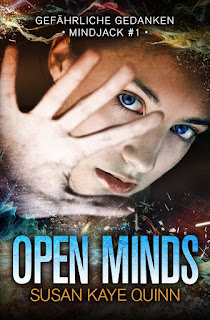 [Rezension] Mindjack 1: Open Minds – Susan Kaye Quinn