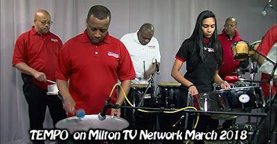 TEMPO Live on Milton Tv Network 2018