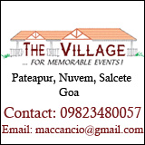 The Village Wedding Hall Nuvem South Goa